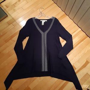 Max Studio handkerchief sweater